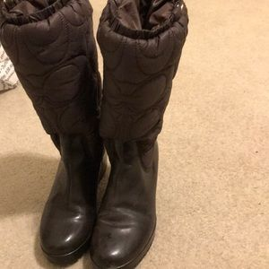 Women Coach rain boot